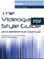 The Video Game Style Guide and Reference Manual