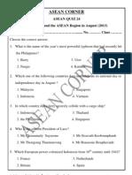 Asean Quiz 24