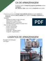 Slides de Equipamentos Utilizados No Transporte e Armazenagem