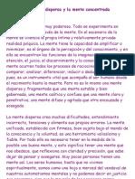 La mente dispersa y la mente concentrada.pdf