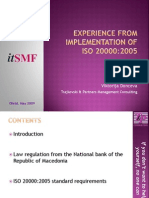 experiencefromimplementationofiso20000final-090714020327-phpapp02