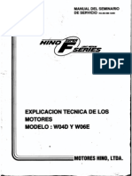 Hino engine W06e manual