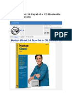 Norton Ghost 14 Español + CD Booteable