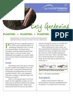 Gardening - Planting Manual
