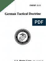 FMFRP 12-11 German Tactical Doctrine