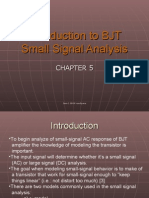 5. Intro to BJT Small Signal