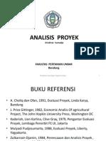 analisa proyek