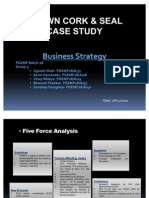 54439366 Crown Cork Seal Case Study Grp 3 Business Strategy