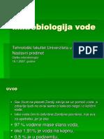Mikrobiologija vode
