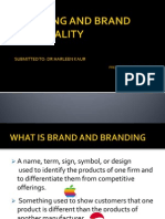 Brand and Brandpersonality (1)