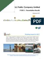 Presentation FY11