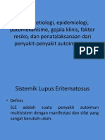 Sle (sistemik lupus Eritematosus)
