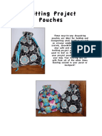 Knit Project Pouch Pattern