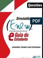 NOVO ENEM 2009 - Simulado de Linguagens