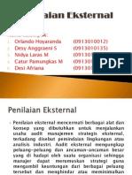 penilaian external