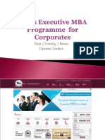 Executive MBA Programme  for Corporates.ppsx