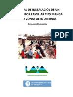 MANUAL DE INSTALACIÓN DE UN BIODIGESTOR FAMILIAR TIPO MANGA PARA ZONAS ALTO ANDINAS (linea)
