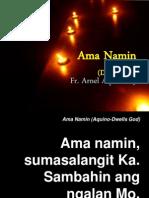 Ama Namin Aquino-Dwells God