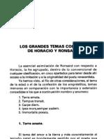 Horacio y Ronsard