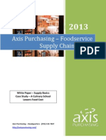 Axis White Paper Foodservice Supply Chain Basics Final