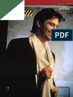 Andrea Bocelli Anthology SheetMusicTradeCom
