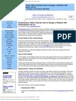 Dreamweaver CS5.5 Tutorial_ How to Design a Website With Dreamweaver CS 5.5