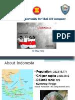 Trairat_Indonesia Presentation_May 30 2012