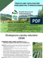 ANNA BEDNAREK Rolnictwo Tradycyjne Ekologiczne