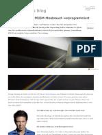 Mossad Experte PRISM Missbrauch Vorprogrammiert Gutjahr_biz 2013 07 Bergman