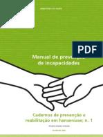 Manual de Prevenção das Incapacidades Físicas em Hanseníase