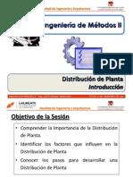 Sesión 4.0 IM 2 - Distribución de Planta - Introducción