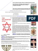 Strahlenfolter - Cuttingedge.org - The 'Star of David' is a Satanic Hexagram, What is the Biblical Symbol for Israel