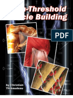 HTMD - High Threshold Muscle Building