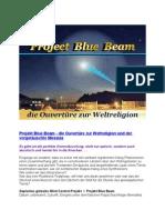 Strahlenfolter - Projekt Blue Beam - die Ouvertüre zur Weltreligion - Blue Beam Project - T. Falk