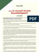 Zionismus - Worin wurzelt Israels Gewalttätigkeit - www.marxists.org