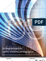 Folleto Curso Pamplona