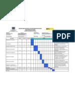 Diagrama de Gantt Asistente de Sistemas