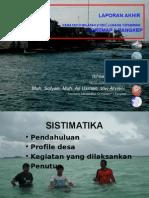 KEGIATAN COREMAP II DI  KECAMATAN LIUKANG TUPABIRING PANGKEP TAHUN 2005