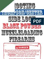 Thompson-Center Shooting TC BlkPwdr Guns Manual