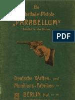 """Die Selbstlade-Pistole """"PARABELLUM"""" DWM 1902"""