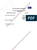 HRM Internship Report on Bank of Punjab
