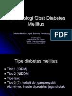 Farmakologi Obat Diabetes Mellitus