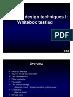 Test Case Design