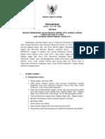 Info CPNS Kab Barito Utara 2013