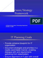 It Strategic Framework Presentation Ppt4160