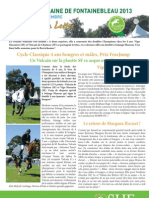Letter 6 Great Week of Fontainebleau young horses final