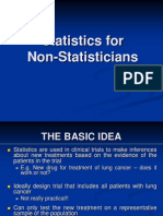 Stats for Non-staticians
