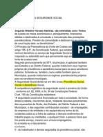 LEI ORGÂNICA DA SEGURIDADE SOCIAL