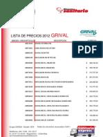 Lista Grival2012
