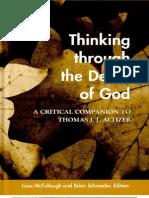 Thinking Through the Death of God - Lissa McCullough